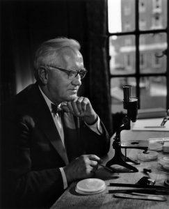 Sir Alexander Fleming, discoverer of penicillin