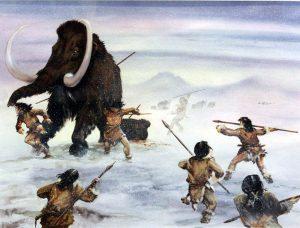Hunter gatherers in the Cenozoic era