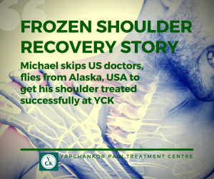 Frozen Shoulder Michael YCK Cover Photo