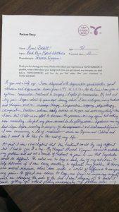 Ann Beckett YCK Testimonial for Degenerative Spondylolisthesis