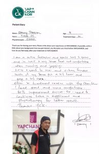 knee_ligament_injury_soft_tissue_yck_yapchankor_dandy_ema Testimonial