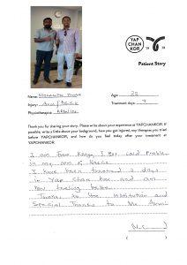 En.Mohamed Omar_Arwin Testimonial at YAPCHANKOR