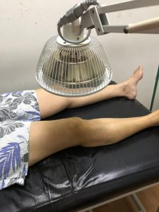 Infrared heat treatment