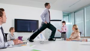 Office lunges